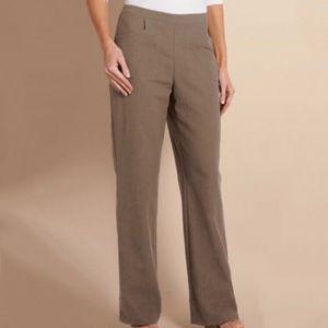 Soft Surroundings Straight Leg Gauze Pants Size 2X